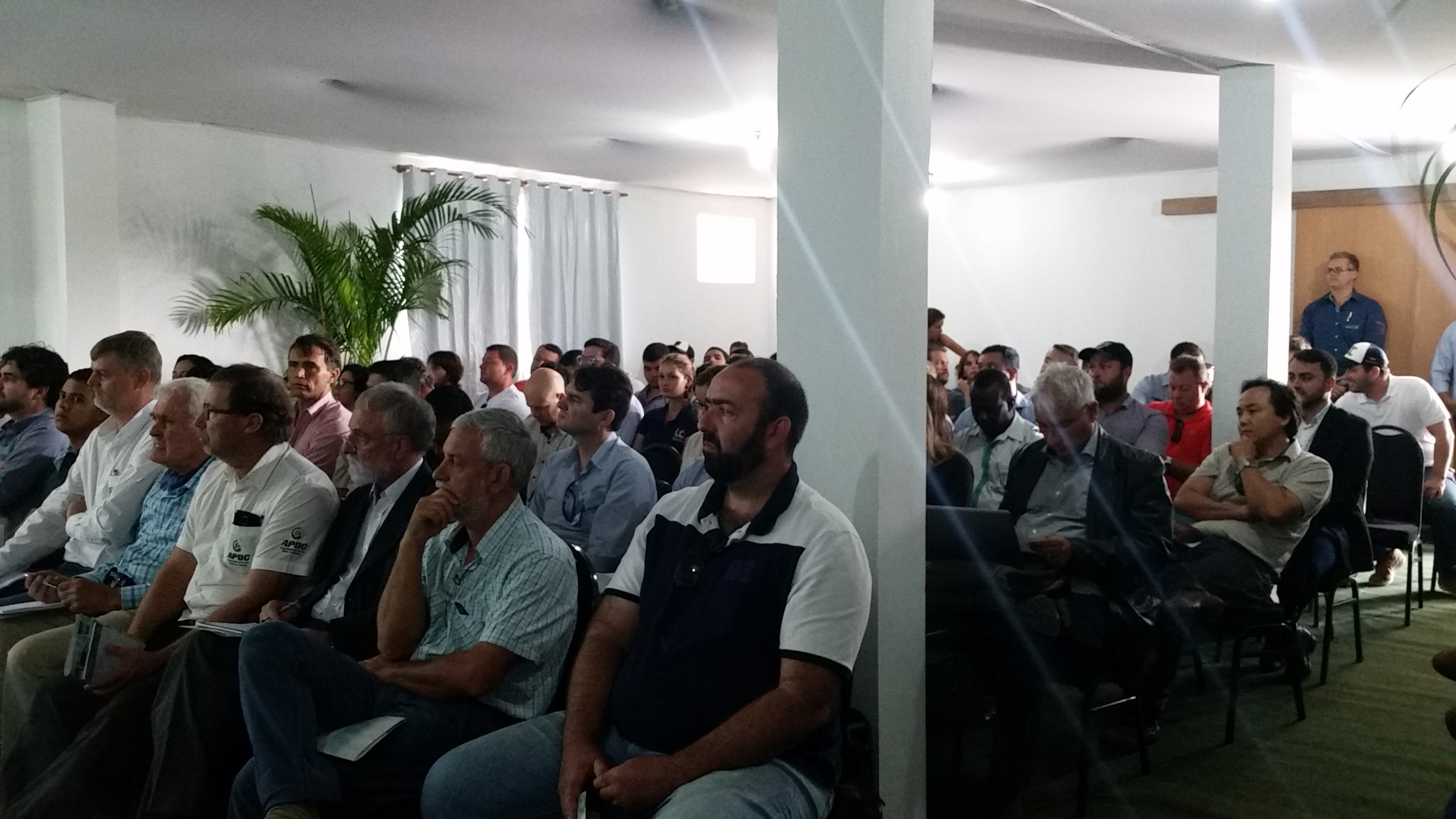 Público do Workshop