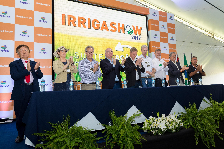 Peso político na abertura do Irrigashow
