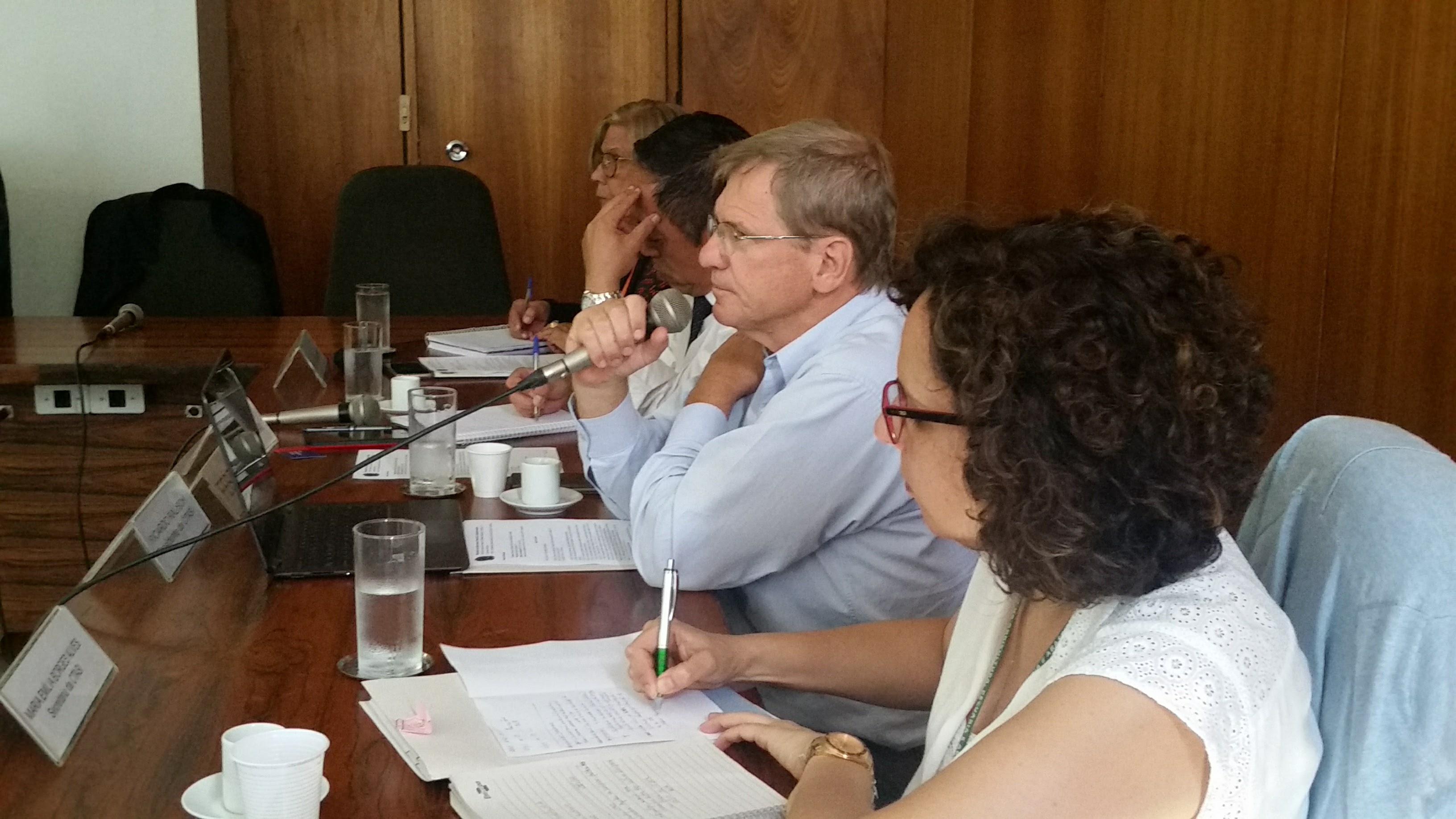 Ricardo Ralisch e equipe do Ministério da Agricultura